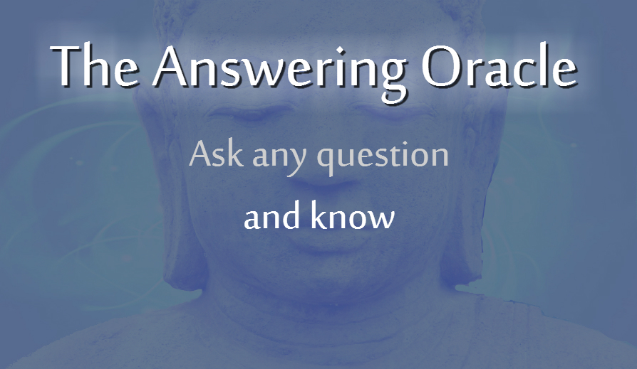 The Answering Oracle   Full Response - Yes No Oracle
